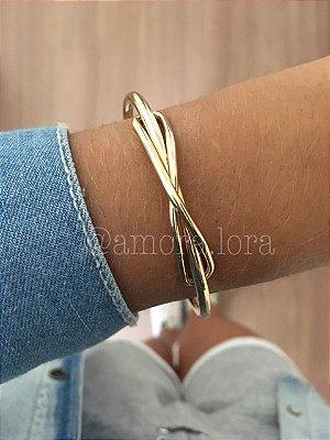 Bracelete Laço (Dourado)