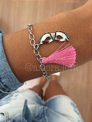 Pulseira Máscara Pink