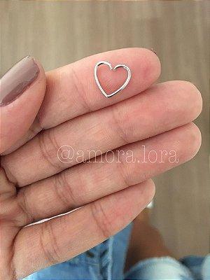 Piercing de Furo Coração