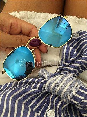Óculos de Sol Espelhado Blue