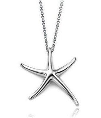 Colar Estrela do Mar - Prata 925