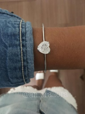 Bracelete Coração Ref.593