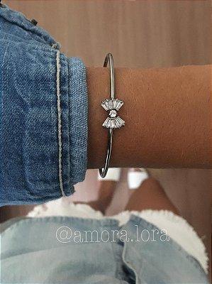Bracelete Laço ChumboRef.598