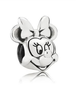 Berloque Minnie- Prata 926-  Ref.790