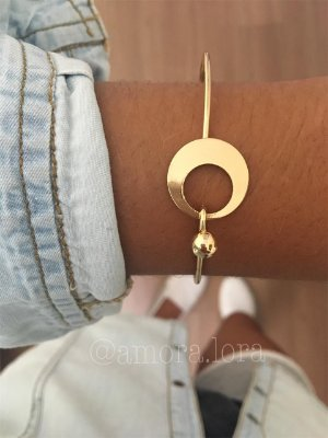 Bracelete Dourado Ref.807