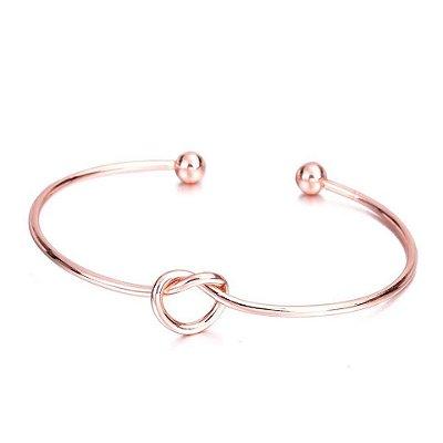 Bracelete Nó de Marinheiro Rose Ref.1033