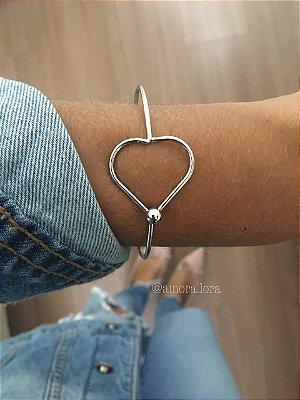Bracelete Coração Ref.1055