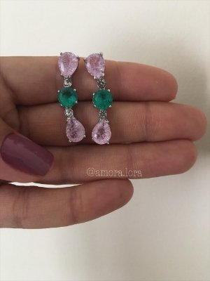 Brinco Ear Cuff Mix Colors Ref.1219