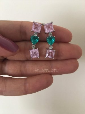 Brinco Ear Cuff Mix Colors Ref.1225