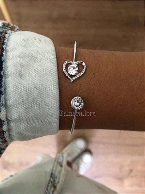 Bracelete Coração Ref.1334