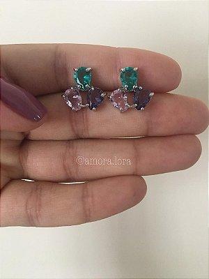 Brinco Ear Cuff Mix Colors Ref.1384