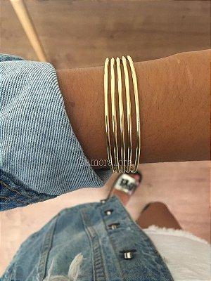 Bracelete Dourado Ref.1393