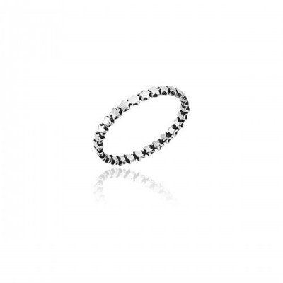 Anel Estrelas Prata 925 Ref. AN01