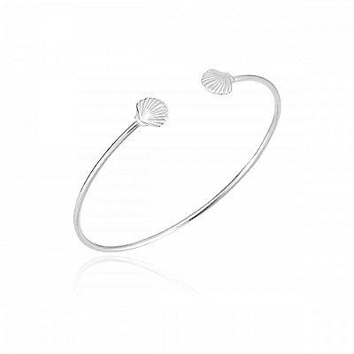 Bracelete Concha Prata 925 Ref. PU01