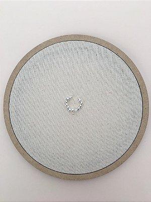 Piercing Fake Bolinhas Folheado a Prata Ref: BR22S