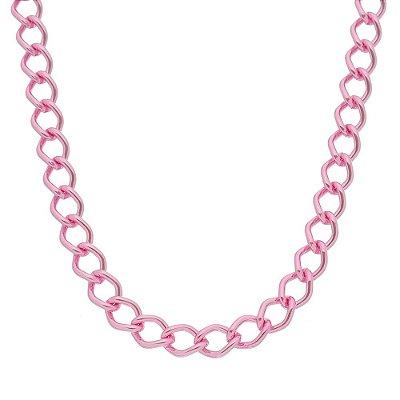 Colar elo balãozinho rosa (20149)