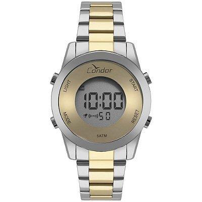 Relógio Condor Feminino Digital Dourado -COBJ3279AC/5D