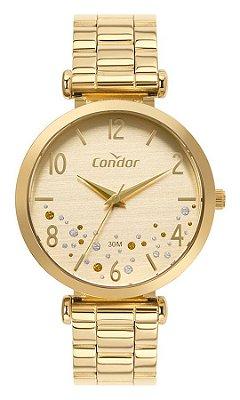 Relógio Condor Feminino Dourado - CO2036MVP4D