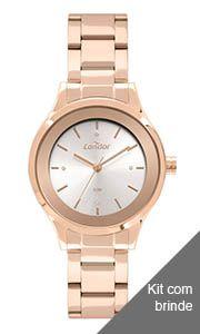 Relógio Condor Feminino Rose -CO2035MWSK4J