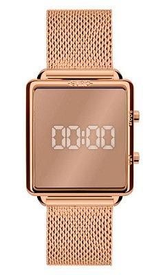 Relógio Euro Feminino Espelhado Rose - EUJHS31BAN4D