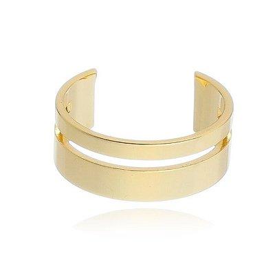 Piercing Vazado Banhado em Ouro 18k