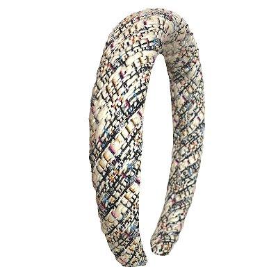 Tiara Espuma de lã Tweed Colorido