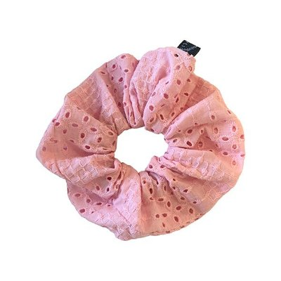 Elástico - Scrunchie de Laise Rosa Claro