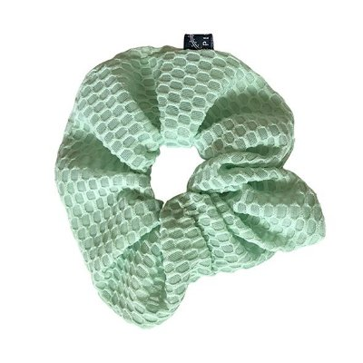 Elástico - Scrunchie Colmeia Verde Claro