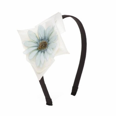 Tiara Flower Drop Azul