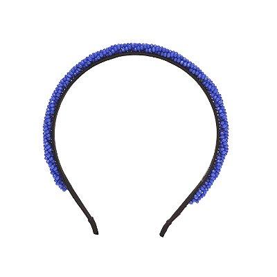 Tiara Tangled Azul com Fios Torcidos