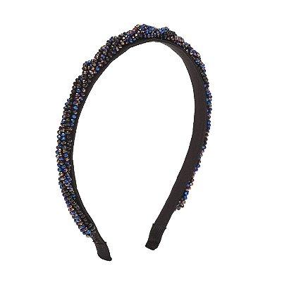 Tiara Tangled Multi-Cor com Fios Torcidos