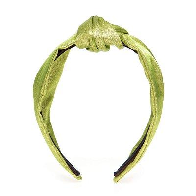 Turbante P1 Pinli Brilho Green Gold