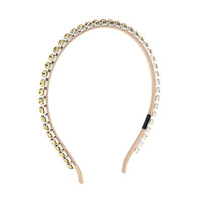 Tiara Fine Chain Amarela