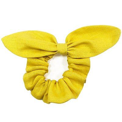 Elástico de Laçode Linho Amarelo