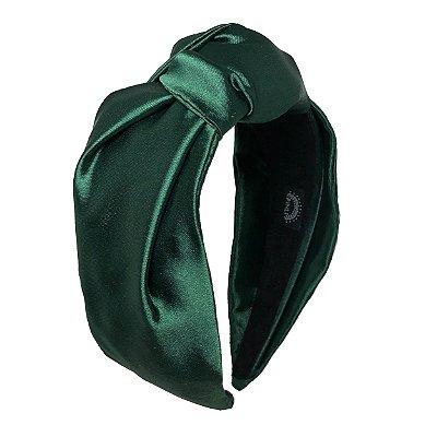 Turbante Pinli Brilho Verde Esmeralda