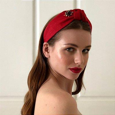 Turbante Vermelho Joaninha