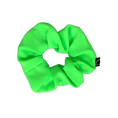 Scrunchie - Elástico Verde Neon Forte