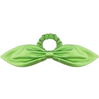 Elástico de Laço Fino Super Neon Verde com Brilho