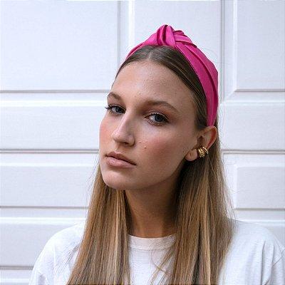 Turbante de Cetim Pink