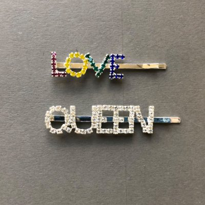 Dupla de Grampo Love-Queen