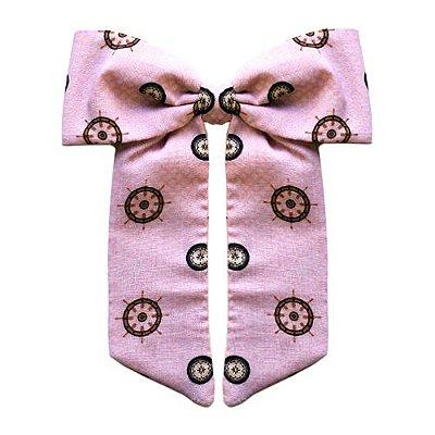 Laço Infantil -   Rosa Claro Estampado