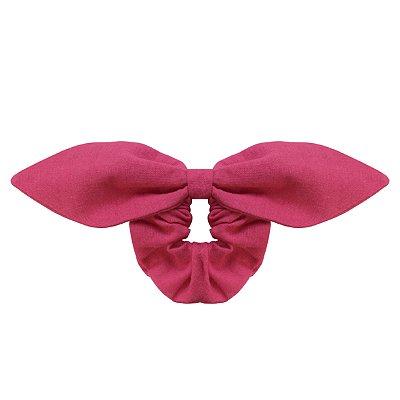 Elástico de Laço de Linho Rosa Pink