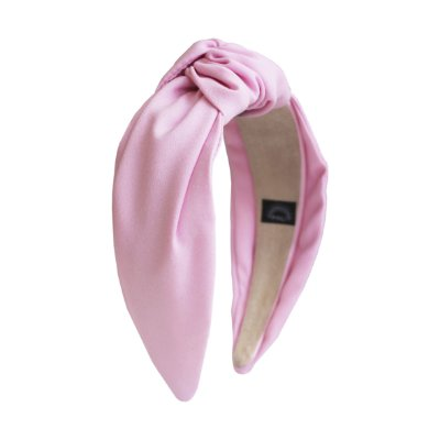 Turbante de Crepe Rosa Light