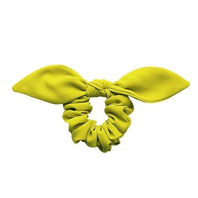 Elástico com Mini Laço de Crepe Verde Limão Siciliano
