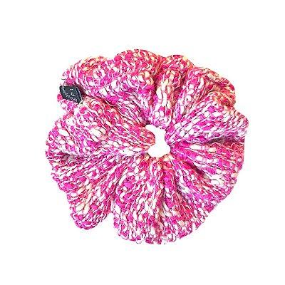 Scrunchie Pinli de Tweed Rosa