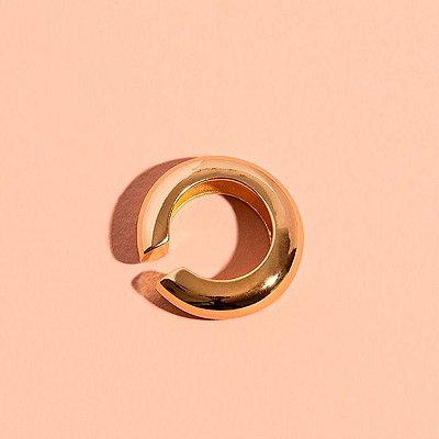 Piercing Round Liso Dourado XL (Unitário)