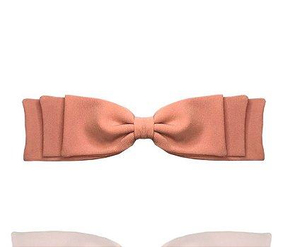 Fivela de Laço Camadas Rosa Claro