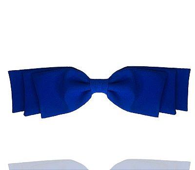 Fivela de Laço Camadas Azul Royal