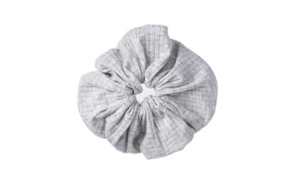 Elástico - Scrunchie Confort Cinza Claro