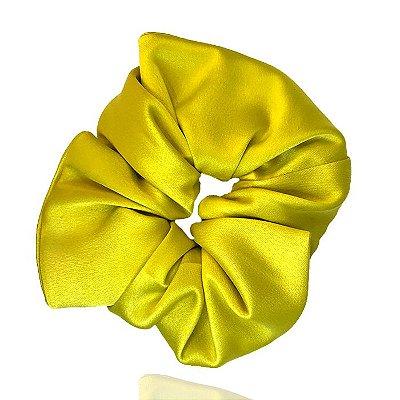 Elástico- Scrunchie de Cetim Limão Siciliano